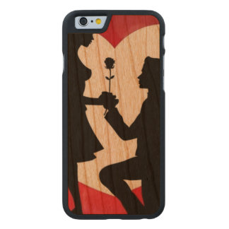 Vintage : Valentine's day - Carved® Cherry iPhone 6 Slim Case