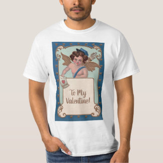 Vintage Valentine's Day, Cherub with Love Letters T-Shirt