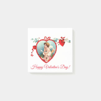 Vintage Valentine's Day Cupid Post-it Notes