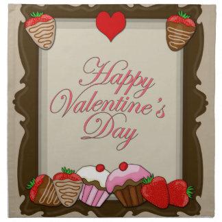 Vintage Valentines day design Napkin