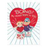 Vintage Valentines Day Post Card