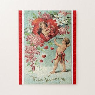 Vintage Valentine's puzzle