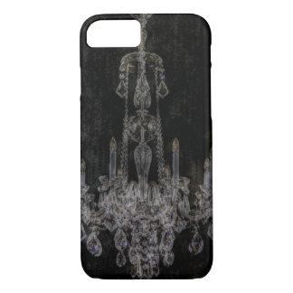 Vintage vampire gothic distressed chandelier iPhone 8/7 case