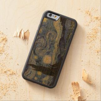 Vintage Van Gogh Starry Night Cherry iPhone 6 Bumper