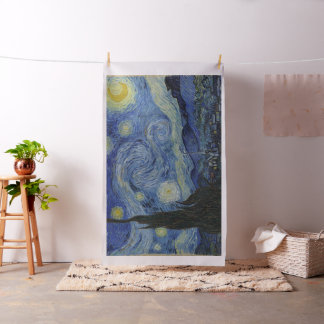Vintage Van Gogh Starry Night Fabric