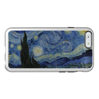 Vintage Van Gogh Starry Night Incipio Feather® Shine iPhone 6 Case