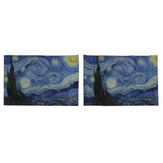 Vintage Van Gogh The Starry Night Pillowcase