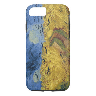 Vintage Van Gogh Wheatfield with Crows iPhone 7 Case