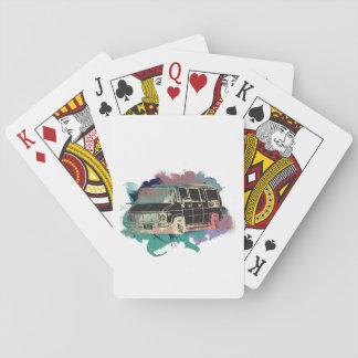 Vintage Van Playing Cards