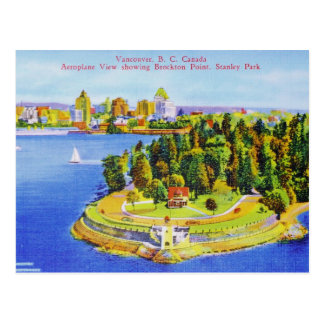 Vintage Vancouver Island Post Card