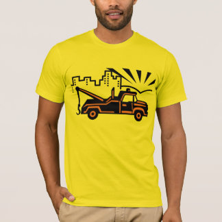 Vintage  Vector Tow Truck T-Shirt