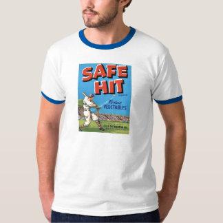 Vintage Vegetable Advertisement Safe Hit T-Shirt
