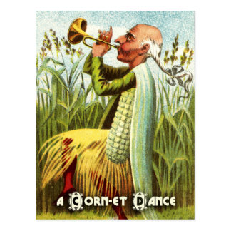 Vintage Vegetable Postcard Series: Corn