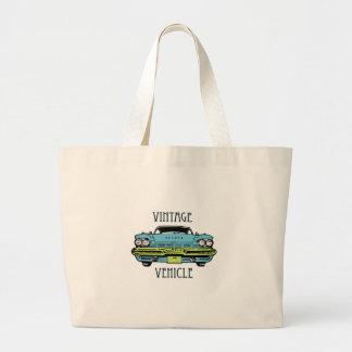Vintage vehicle canvas bags
