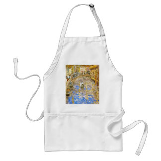 Vintage Venice Italy Canal Scene - by Prendergast Standard Apron