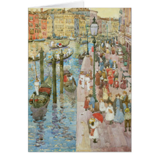 Vintage Venice, Italy Note Card