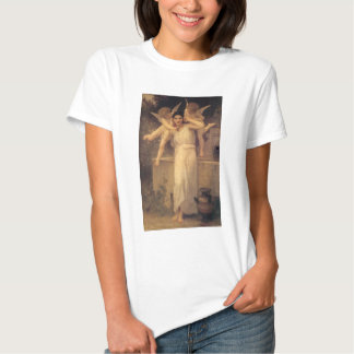 Vintage Victorian Angels, Youth by Bouguereau T-shirt
