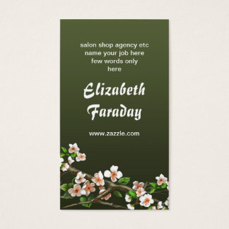 Vintage Victorian Antique Style Business Cards