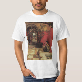 Vintage Victorian Art, An Oleander by Alma Tadema T-Shirt