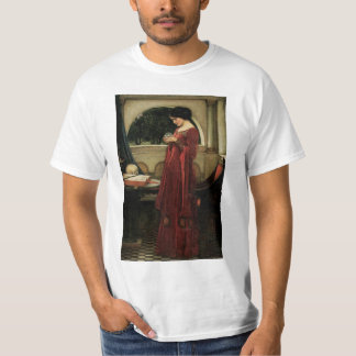Vintage Victorian Art, Crystal Ball by Waterhouse T-Shirt