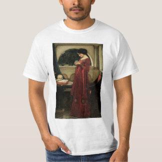 Vintage Victorian Art, Crystal Ball by Waterhouse Tshirts