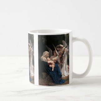 Vintage Victorian Art, Song of Angels, Bouguereau Coffee Mug