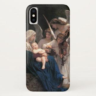Vintage Victorian Art, Song of Angels, Bouguereau iPhone X Case