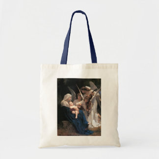 Vintage Victorian Art, Song of Angels, Bouguereau Tote Bag
