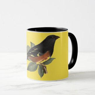 Vintage Victorian Bird Coffee Mug