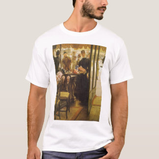 Vintage Victorian Fine Art, Shop Girl by Tissot T-Shirt