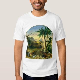 Vintage Victorian Folk Art, Noah's Ark by Hidley T-shirt