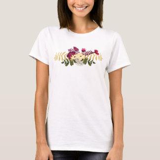 Vintage Victorian Music Romance Tulips T-Shirt