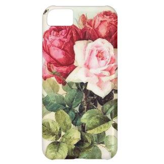 Vintage Victorian Rose Bouquet Case For iPhone 5C