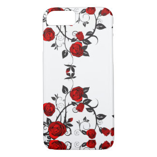 Vintage Victorian Rose Vine Cell Phone Case