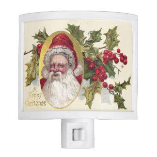 Vintage Victorian Santa Claus, c.1906 Christmas Night Light
