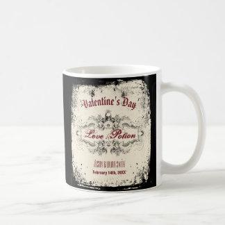 Vintage Victorian Skull Coffee Mug