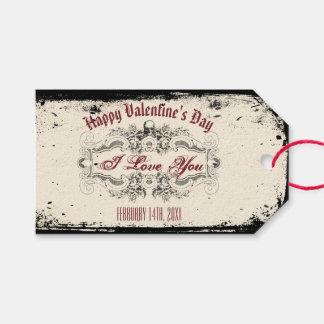 Vintage Victorian Skull Gift Tags