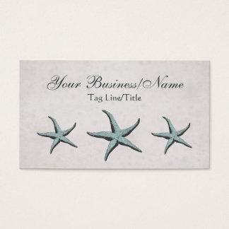 Vintage Victorian Starfish Business Card