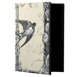 Vintage Victorian Style Bird Ipad Case
