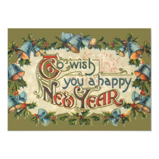 Vintage Victorian, To Wish You a Happy New Year Card