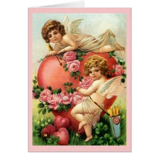 Vintage Victorian Valentine's Day Card Valentine