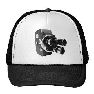 vintage video camera trucker hat