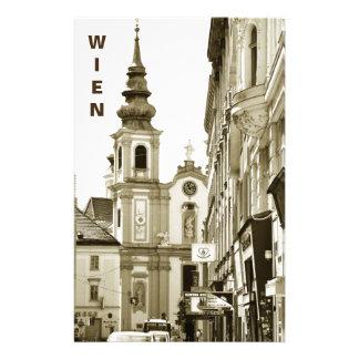 Vintage Vienna, Austria Stationery