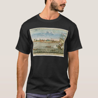 Vintage View of the City of New York from the SW T-Shirt