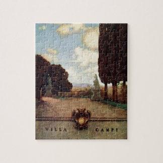 Vintage Villas & Gardens: Villa Campi Jigsaw Puzzle