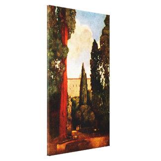 Vintage Villas & Gardens: Villa d'Este Canvas Print