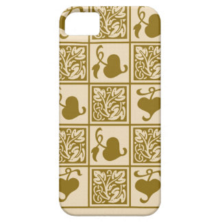 Vintage vine leaves iPhone 5 covers