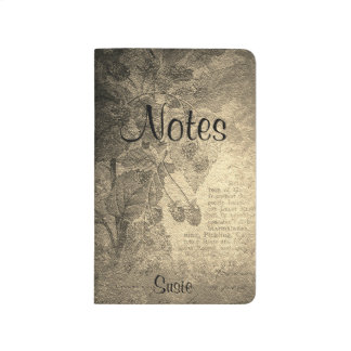 Vintage Vines and Tea Notes Journal