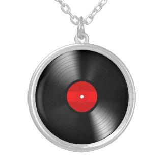 Vintage Vinyl Record Necklace