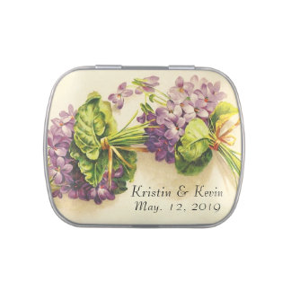 Vintage Violet Wedding Reception Favors